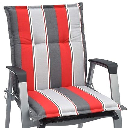 Beautissu Cojines sillas Respaldo bajo de jardín Loft NL ...