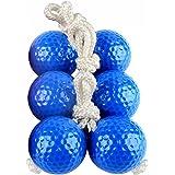 SUNFUNG Ladder Toss Ball Replacement Ladder Balls Bolos Bolas Ladder Golf With Real Golf Balls