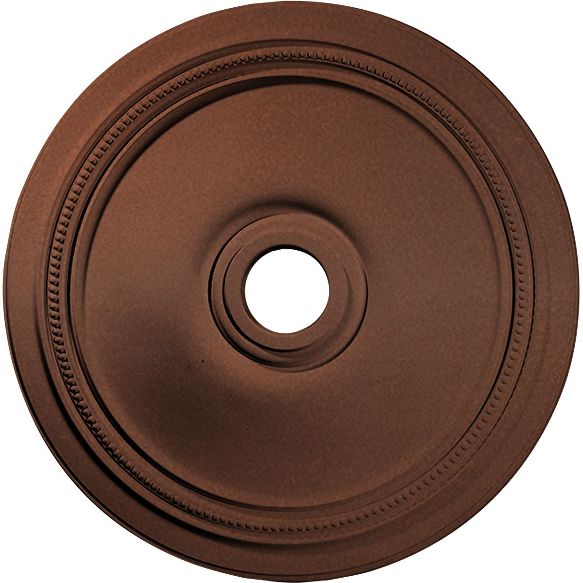 Ekena Millwork CM24DICPS 24'' OD x 3 5/8'' ID x 1 P Diane Ceiling Medallion (fits Canopies up to 6 1/4''), Copper Penny