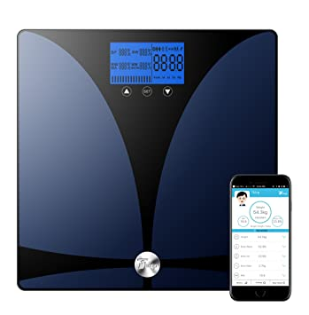 thinp bluetooth body fat scale digital bathroom scale body composition analyzer bmi measurement tool