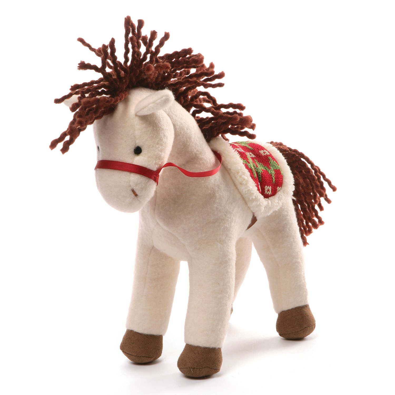 10 White 10 4053898 GUND Winter Horse Holiday Plush