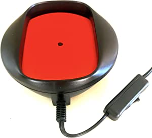 Original red Mouse Mover with 3rd gen electr. simulate Random Left/Right, On/Off Mouse Movement, Cannot be Tracked. Freedom! Designed, Assembled in U.S. Help Support US Business.