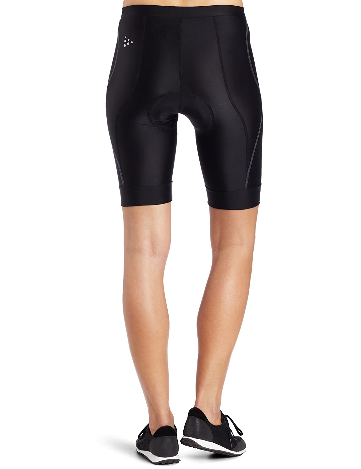 protective//riding//compression//cooling Craft Sportswear Womens AB Bike Cycling Padded Tight Short with Elastic Leg Grips