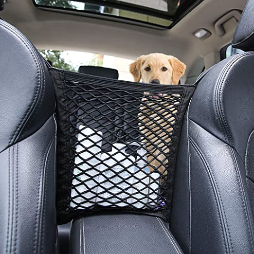 para Mascotas Protector de Malla para Coche para Barrera para Mascotas con Malla de Seguridad para Perros y barreras Domeilleur Barrera para Perro