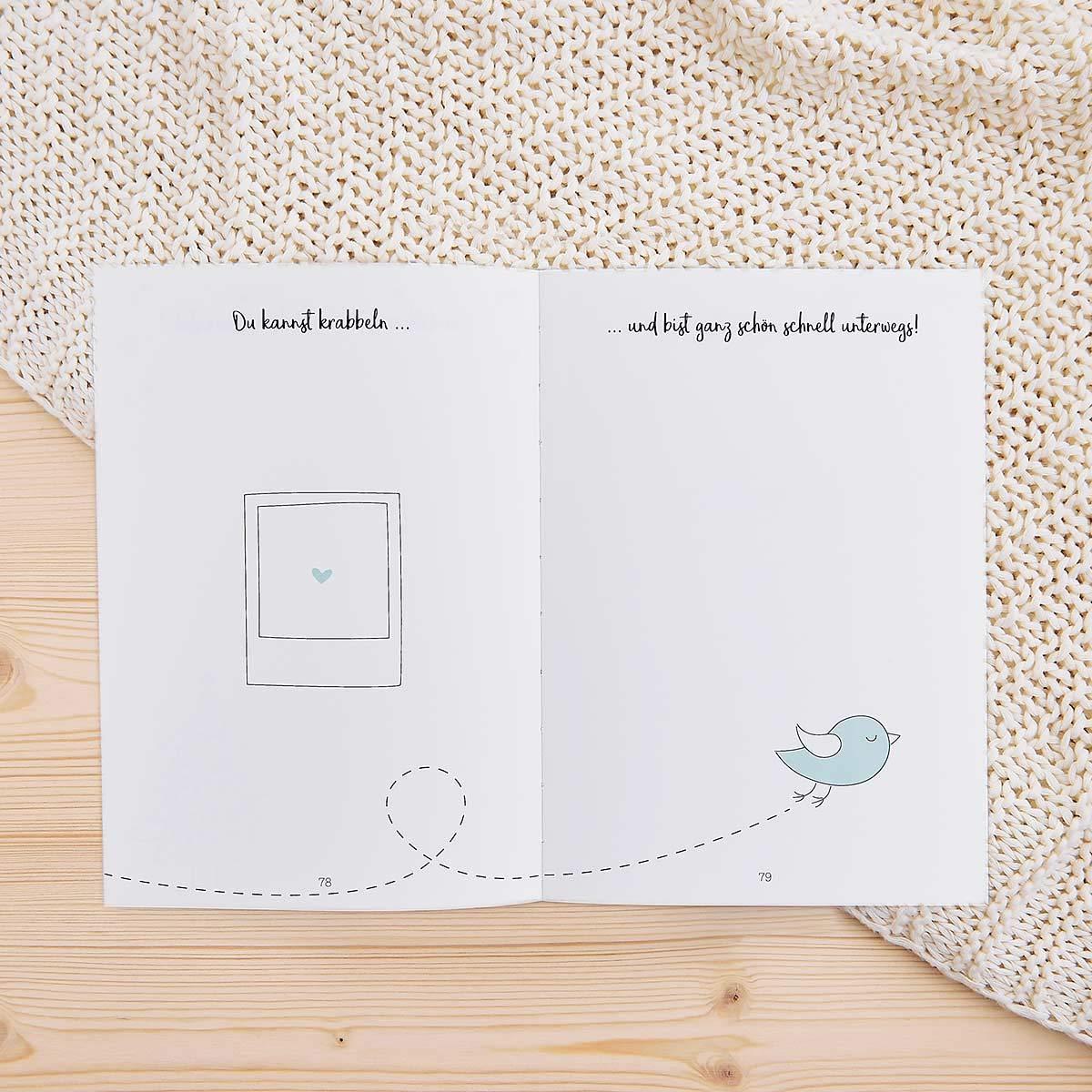 Schwangerschaftstagebuch /& Babyalbum /»kleines Wunder Snygg gro/ßes Gl/ück/«