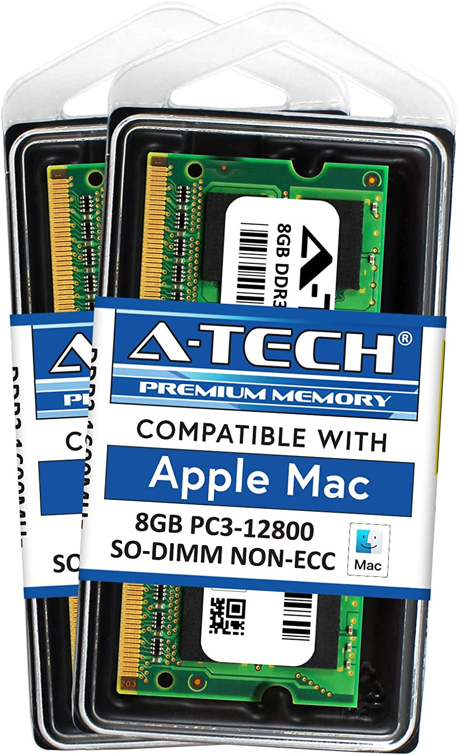 A-Tech for Apple 16GB Kit 2 x 8GB PC3-12800 Mac Mini iMac Late 2013 Late 2012 ME086LL/A A1418 ME087LL/A ME088LL/A A1419 ME089LL/A MF886LL/A MF885LL/A MD387LL/A A1347 MD388LL/A MD389LL/A Memory RAM