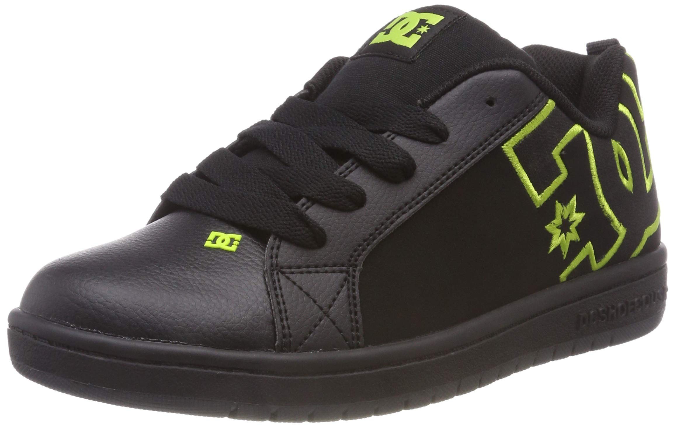 DC CT Graffik SE Kids Black/Black/Soft Lime Kids 2uk / Black/Black/Soft Lime