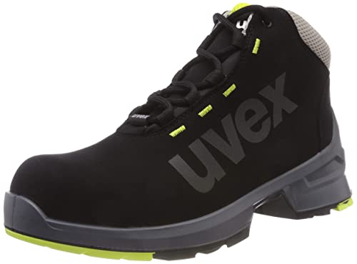 Uvex One - Botas de seguridad, color negro, talla 41