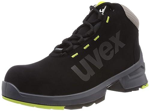 Uvex One - Botas de seguridad, color negro, talla 41