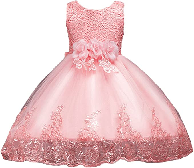 Madchen Kinder Blumenmadchen Spitzenkleid Sommerkleid Party Kleid Hochzeit Abendkleid Mode Fur Madchen