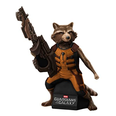 Monogram Marvel's Guardians of The Galaxy: Rocket Raccoon Figural Bank: Toys & Games