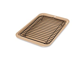 Nordic Ware 2-Piece Compact Broiler Pan
