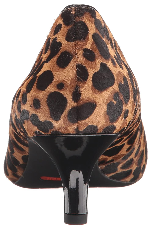 Rockport Women's Total Motion Kalila Dress Pump B01ABS13TC 7.5 B(M) US|Tan Ocelot Hair on