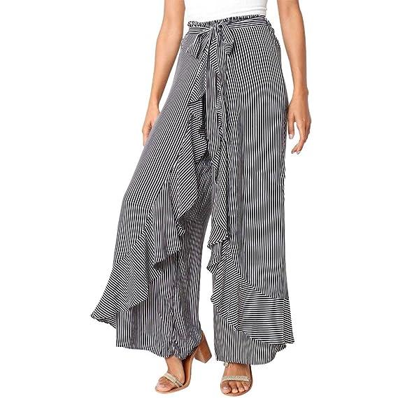 Dacawin Fashion Women Trousers, Summer Casual Chiffon ...