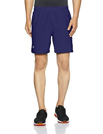 34fd60cd42 Under Armour Men Launch Sw 7-Inch Shorts, Blue (Formation Blue),