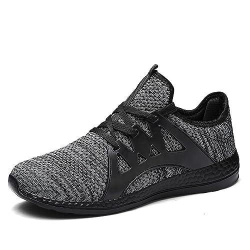 Hombre Zapatillas Deporte Zapatos para Correr Athletic Cordones ...