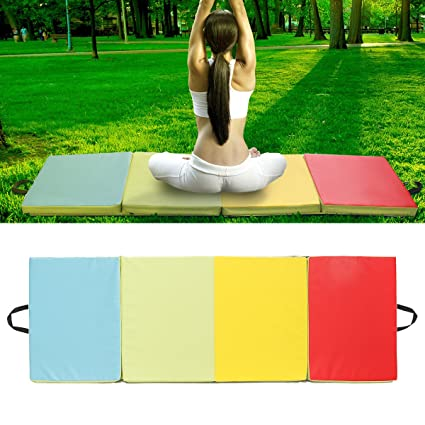 ChangFei - Colchoneta Plegable para Gimnasia, Yoga ...
