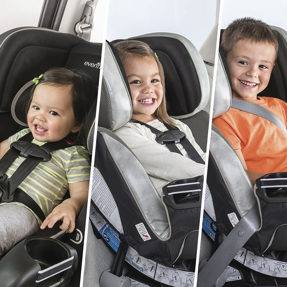 Evenflo Symphony with SensorSafe Technology Convertible Car Seat ...
