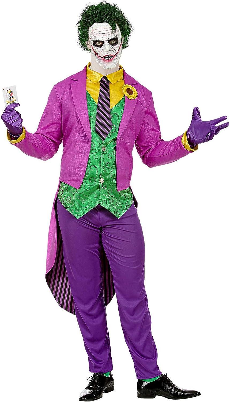 WIDMANN- Costume Mad Joker da Disfraces, Multicolor, Uomo: Medium ...