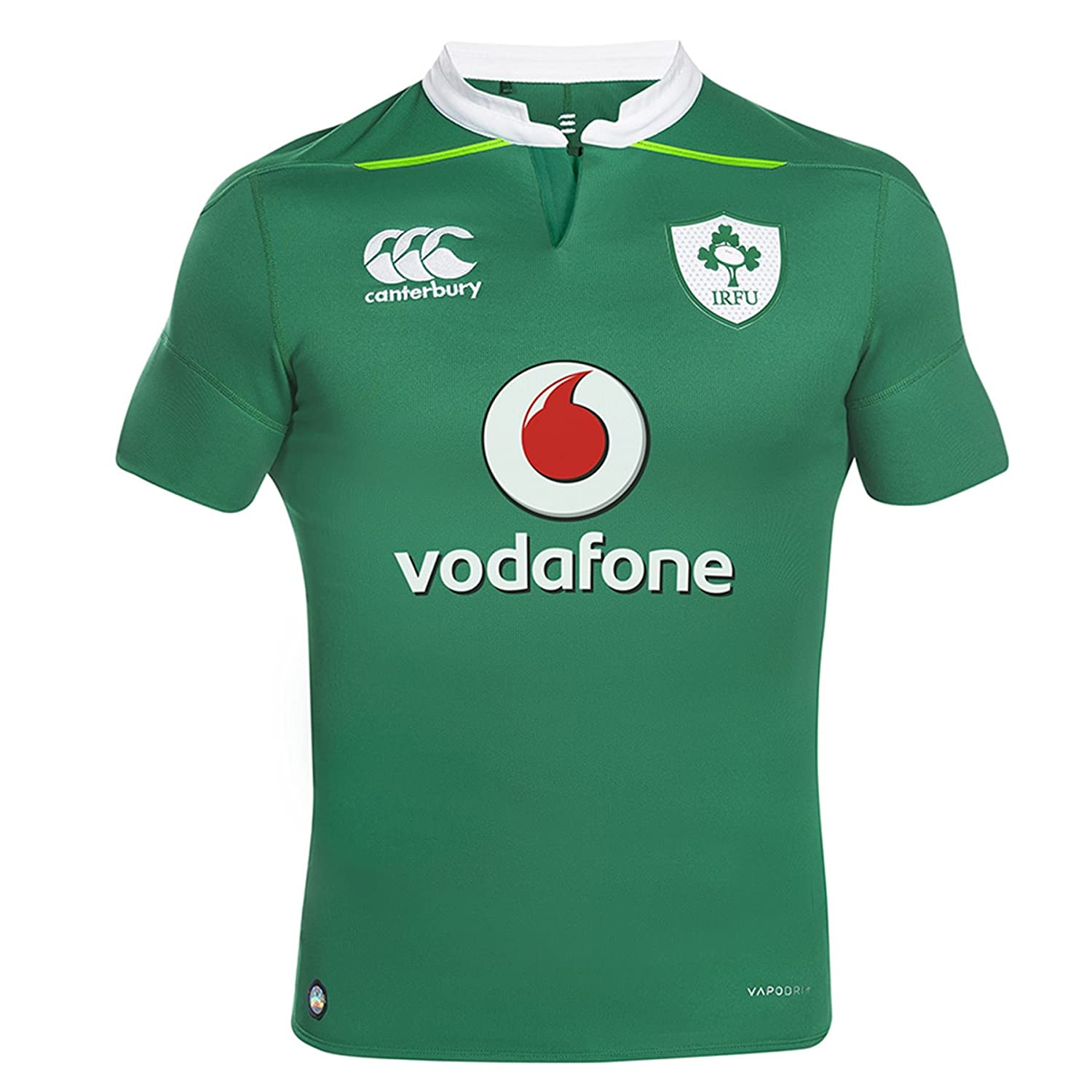 Canterbury Ireland Rugby Vapordri+ Home Test Jersey