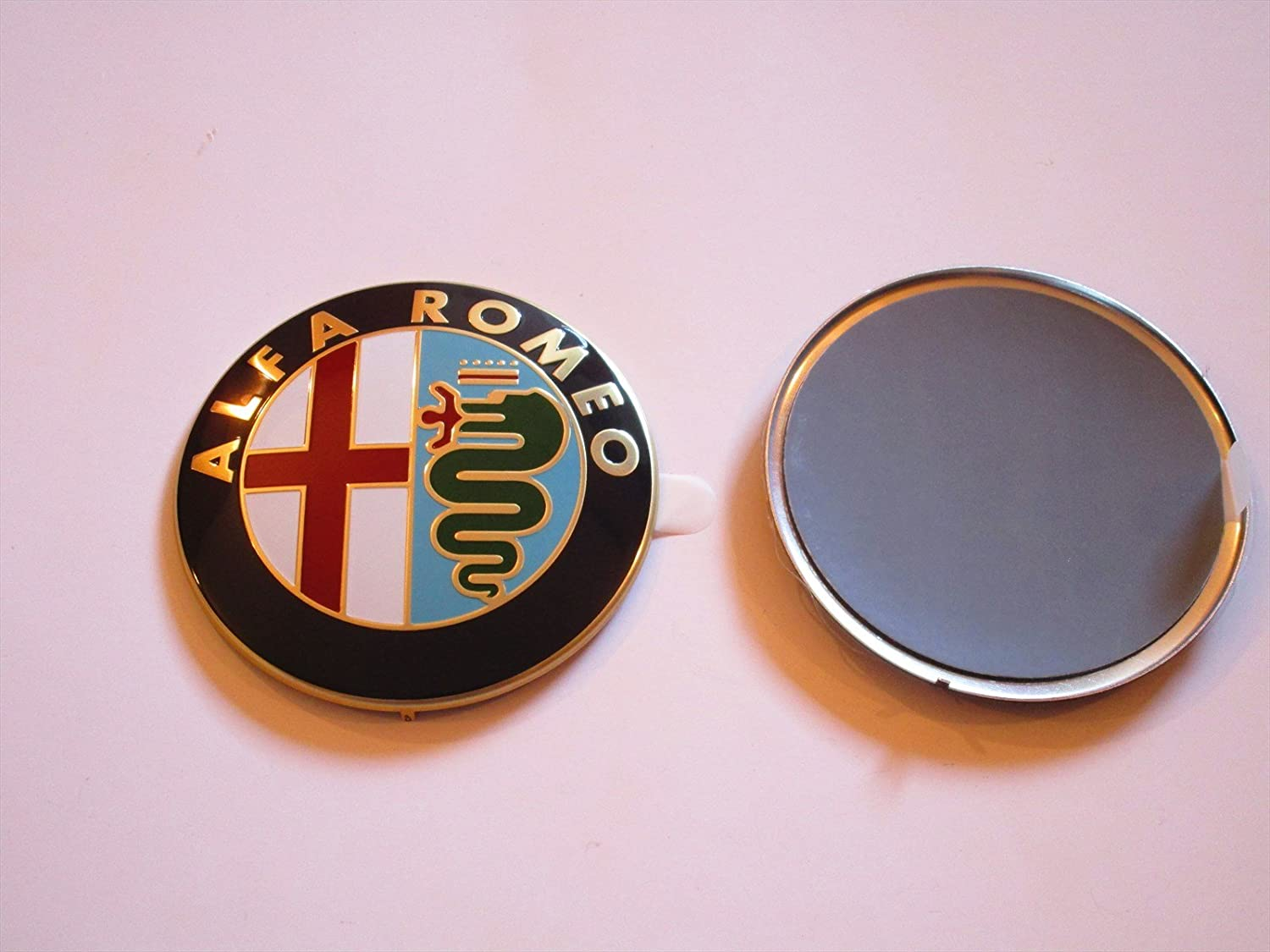 Front Or Rear Emblem Mito Giulietta Brera 147 159 Gt Badge Logo New Small Circle Blue Car Motorbike