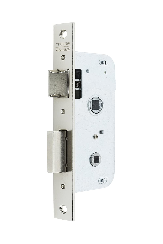 Entrada 50mm Latonado Tesa Assa Abloy 200550HL Cerradura de embutir para puertas de madera 2005