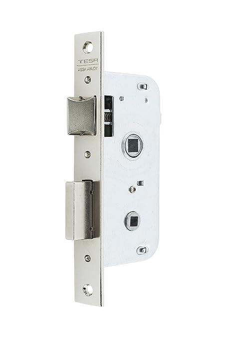 Tesa Assa Abloy, 200450HN Cerradura de embutir para puertas de madera, Entrada 50mm,