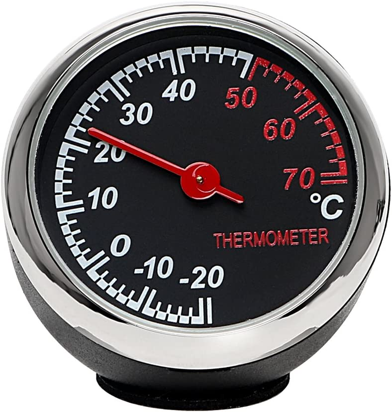 Holdream Auto Thermometer Ornament Auto Armaturenbrett Innen Dekoration Auto
