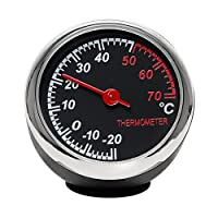 holdream Auto-Thermometer Ornament Auto Armaturenbrett Innen Dekoration