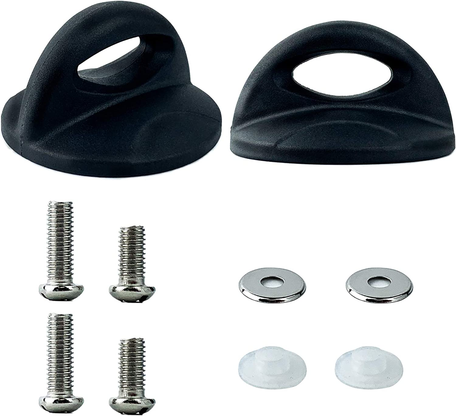 2 PACK Pot Lid Top Replacement Knob Sector Style. Kitchen Cookware Universal Replacement Pan Lid Holding Handles.