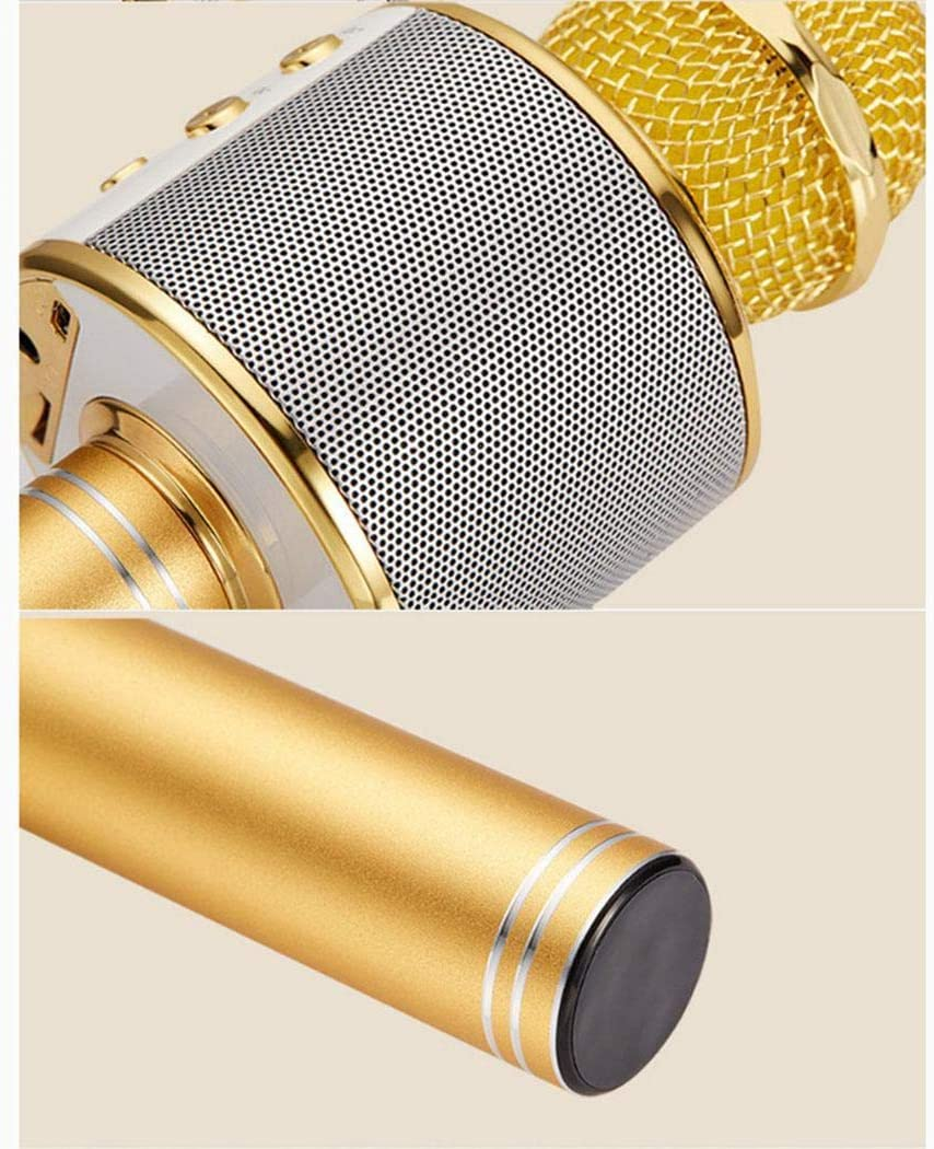 Queind Wireless Bluetooth Microphone Audio Mobile Phone Karaoke Microphone Microphones