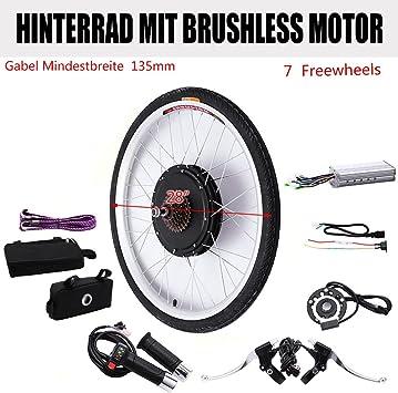 OUKANING - Kit de conversión de Motores de Bicicleta eléctricos y ...
