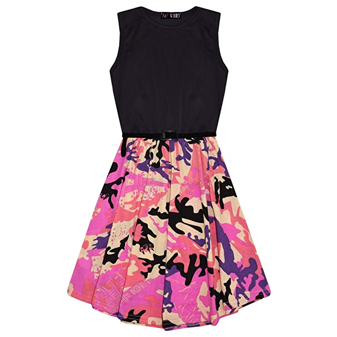 A2Z 4 Kids® A2Z 4 Kids® Mädchen Skater Kleid Kinder Designer ...