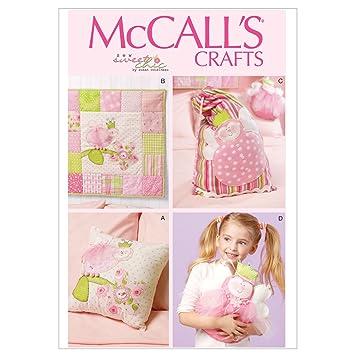 Mc Call´s Schnittmuster 6527 Crafts Accessoires,Kissen,Decke,Beutel ...