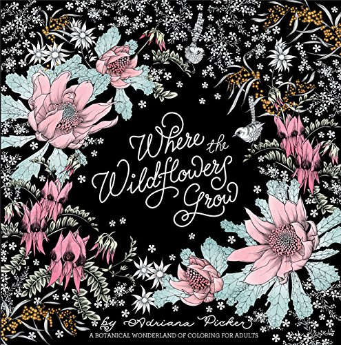 Where the Wildflowers Grow: A Botanical Wonderland of Coloring for ()