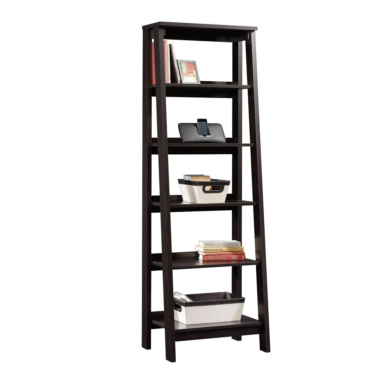 Sauder 5 Shelf Bookcase, Jamocha Wood 414602