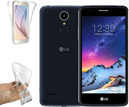 Funda Carcasa Gel Transparente DOBLE 360º para LG K8 (2017), Ultra ...
