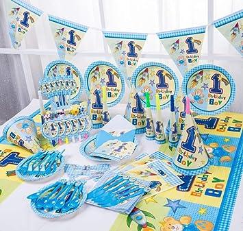 MAGRF Feliz cumpleaños niños 1er Oso Baby Shower Boda ...