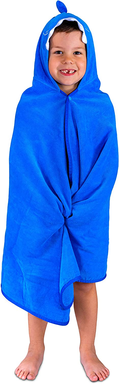 Hudz Kidz Hooded Towel for Kids & Toddlers, Ideal at Bath, Beach, Pool