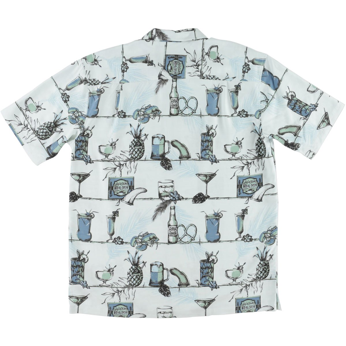 ONeill Mens Jack Home Bru Button up Short-Sleeve Shirt