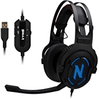 Rosewill NEBULA GX60 Over-Ear Wired Gaming Headphones