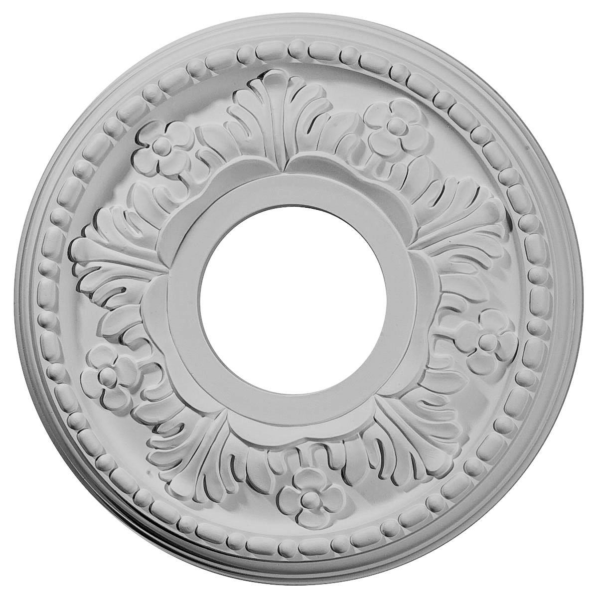 Ekena Millwork CM11HE 11 7/8-Inch OD x 3 5/8-Inch ID x 7/8-Inch Helene Ceiling Medallion
