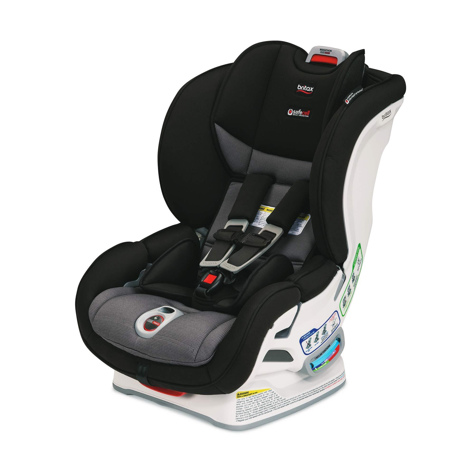 Amazon.com : Britax Marathon ClickTight Convertible Car Seat, Verve : Baby