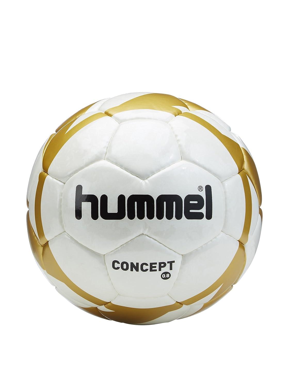 EIDER Hummel Concept - Balón de fútbol, tamaño 4, Color Blanco ...