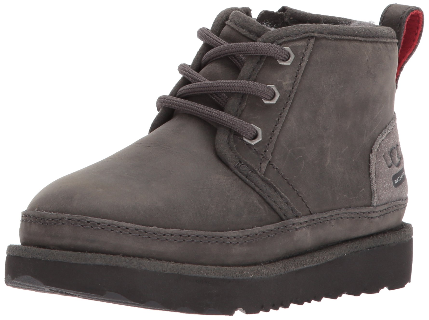 UGG Kids T Neumel II WP Pull-On Boot, Charcoal, 9 M US Toddler