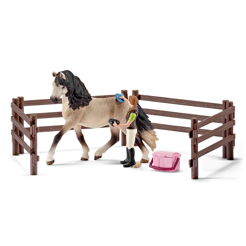 Schleich Horse Club Tournament Saddle /& Bridle 42166 NEW