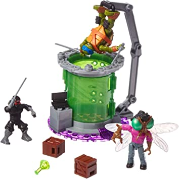 Mega Bloks Teenange Mutant Ninja Turtles Out of The Shadows Leo Figure Mattel