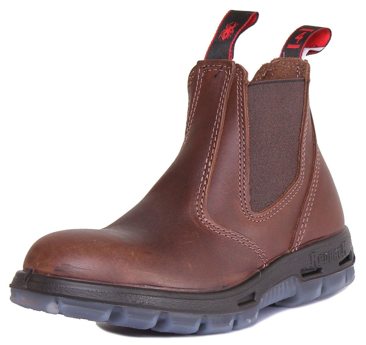 Redback UBOK Brown - Botines chelsea unisex45 EU Brown