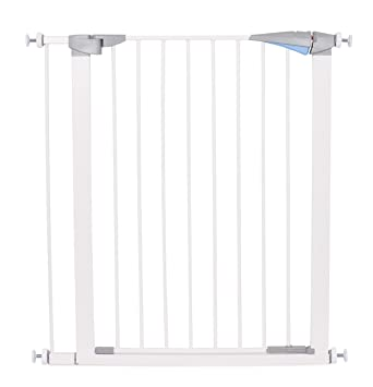 Amazon Com Internet S Best Safety Pet Gate With Door Fits Spaces