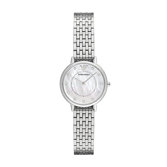 Emporio Armani Reloj de Pulsera de Mujer ar2511: Amazon.es ...
